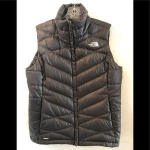 North Face women's down vest